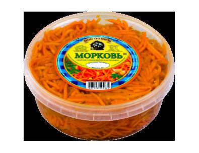 Морковь в маринаде 450 г