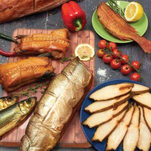 Рыба горячего и холодного копчения