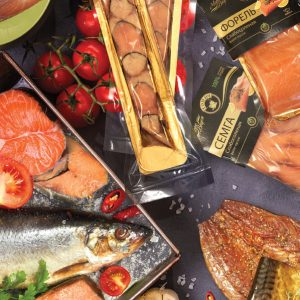 Рыба в вакуумной упаковке